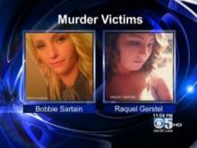 Teenaged Girls Bobbie Sartain and Raquel Gerstel